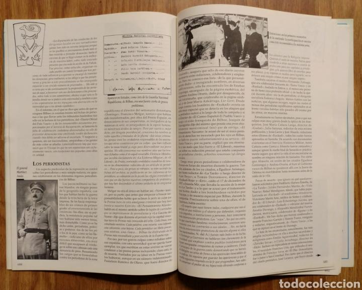 Militaria: GUERRA CIVIL - LOS AÑOS NEGROS (Y II) - MEMORIA DE LA GUERRA EN EUSKADI EUZKADI - Foto 9 - 109909795