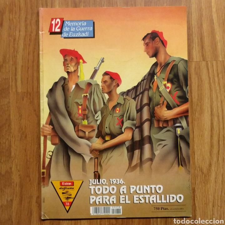 GUERRA CIVIL - TODO A PUNTO PARA EL ESTALLIDO 1936 - MEMORIA DE LA GUERRA EN EUSKADI EUZKADI (Militar - Libros y Literatura Militar)