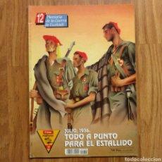 Militaria: GUERRA CIVIL - TODO A PUNTO PARA EL ESTALLIDO 1936 - MEMORIA DE LA GUERRA EN EUSKADI EUZKADI. Lote 109915563