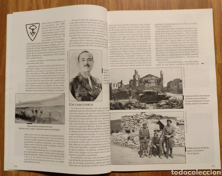 Militaria: GUERRA CIVIL - TODO A PUNTO PARA EL ESTALLIDO 1936 - MEMORIA DE LA GUERRA EN EUSKADI EUZKADI - Foto 3 - 109915563