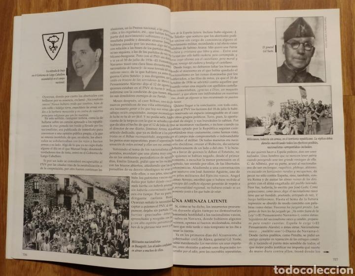Militaria: GUERRA CIVIL - TODO A PUNTO PARA EL ESTALLIDO 1936 - MEMORIA DE LA GUERRA EN EUSKADI EUZKADI - Foto 6 - 109915563