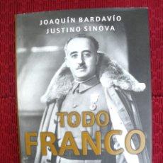 Militaria: TODO FRANCO, FRANQUISMO Y ANTIFRANQUISMO DE LA A A LA Z.. Lote 110060527