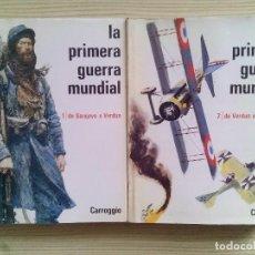 Militaria: LA PRIMERA GUERRA MUNDIAL - CARROGGIO - 2 TOMOS. Lote 110839139