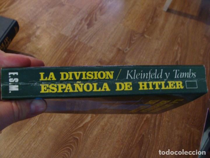 Militaria: Libro la división española de Hitler, La división Azul II GM - Foto 2 - 111037775