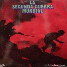 Militaria: LA SEGUNDA GUERRA MUNDIAL DISCO LP DE VINILO CEDIDO POR AMIGOS DE LA HISTORIA EDITADO MOVIEPLAY 1971. Lote 111374655
