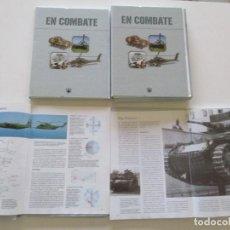 Militaria: EN COMBATE: HELICÓPTEROS. AVIONES. CARROS DE COMBATE. VEHÍCULOS MILITARES. CUATRO TOMOS. RMT85440.. Lote 111486095