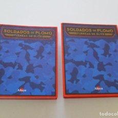 Militaria: VV. AA. SOLDADOS DE PLOMO. FUERZAS DE ÉLITE. DOS TOMOS. RM85459. . Lote 111490647