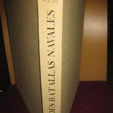 Militaria: GRANDES BATALLAS NAVALES. OLIVER WARNER. PLAZA & JANES EDITORES 1964.. Lote 111669619