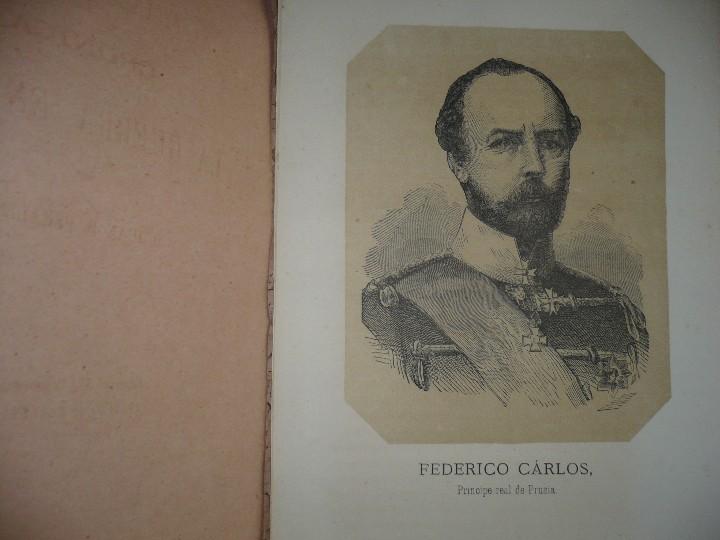 Militaria: 19 CUADERNOS FRANCIA Y PRUSIA CRONICA DE LA GUERRA DE 1870 JUAN B.PERALES 1871 MADRID - Foto 5 - 111785863