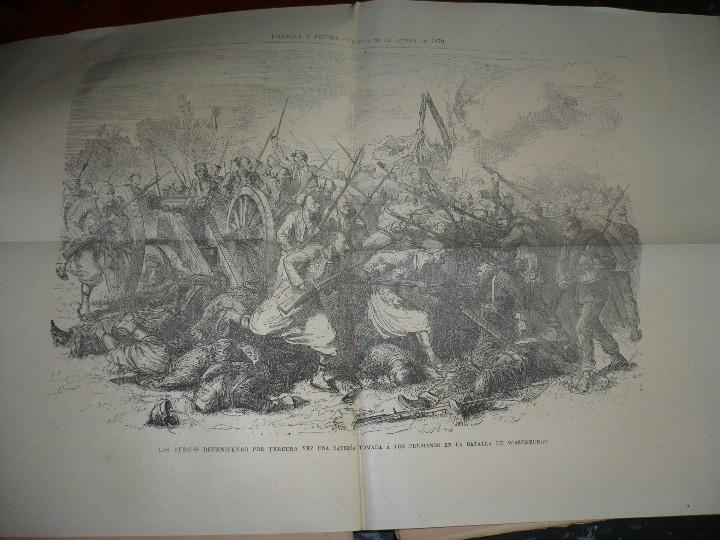 Militaria: 19 CUADERNOS FRANCIA Y PRUSIA CRONICA DE LA GUERRA DE 1870 JUAN B.PERALES 1871 MADRID - Foto 9 - 111785863