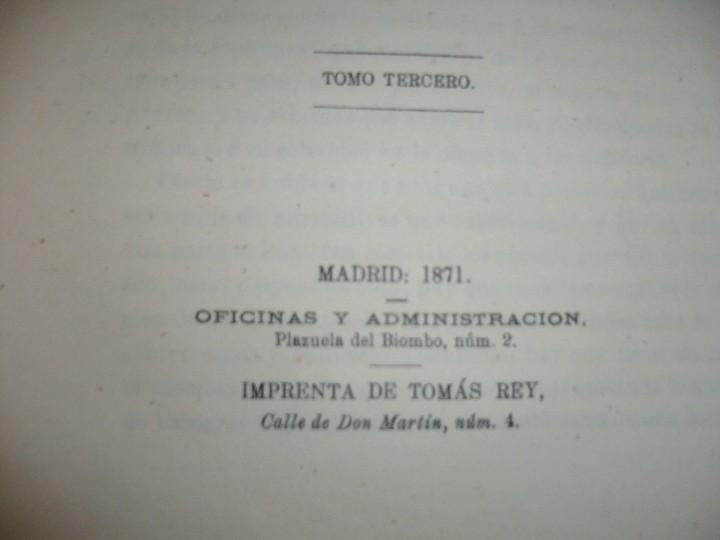 Militaria: 19 CUADERNOS FRANCIA Y PRUSIA CRONICA DE LA GUERRA DE 1870 JUAN B.PERALES 1871 MADRID - Foto 4 - 111785863
