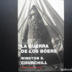 Militaria: LA GUERRA DE LOS BOERS. WINSTON S. CHURCHILL. Lote 112316159