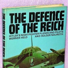 Militaria: THE DEFENCE OF THE REICH. HITLER´S NIGHFIGHTER PLANES AND PILOTS (EN INGLÉS). Lote 112693687