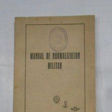 Militaria: MANUAL DE NORMALIZACIÓN MILITAR. TDK161. Lote 112697683