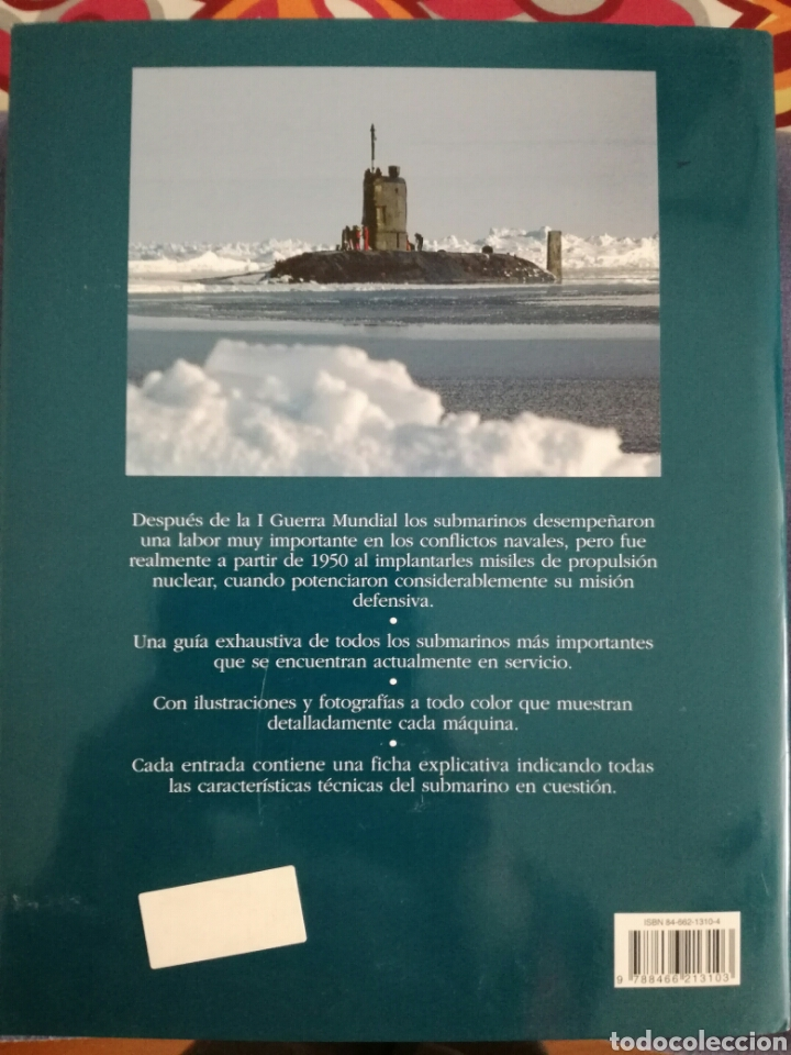 Militaria: Libro submarinos de guerra.Editorial Libsa - Foto 2 - 112813351