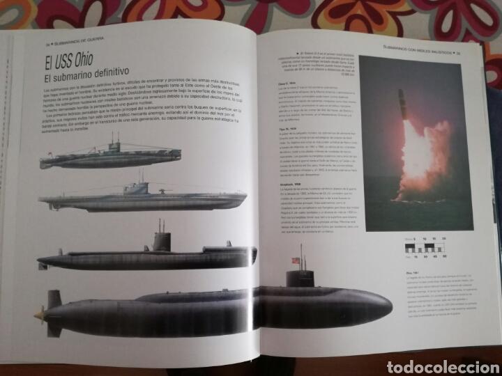 Militaria: Libro submarinos de guerra.Editorial Libsa - Foto 5 - 112813351