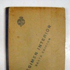 Militaria: REGLAMENTO PROVISIONAL PARA EL DETALL Y REGIMEN INTERIOR DE LOS CUERPOS DE EJERCITO. 1919. Lote 112878635