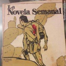 Militaria: LA MISMA SANGRE LA NOVELA SEMANAL. Lote 112917004