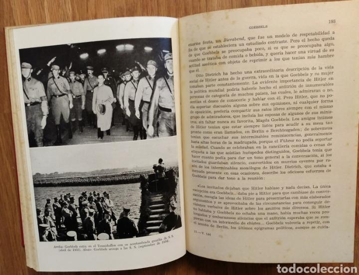 Militaria: WW2 - GOEBBELS - ROGER MANVELL HEINRICH FRAENKEL - NAZISMO PROPAGANDA HITLER ALEMANIA - Foto 2 - 112927980