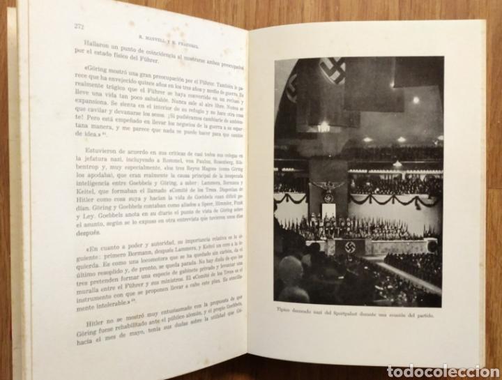 Militaria: WW2 - GOEBBELS - ROGER MANVELL HEINRICH FRAENKEL - NAZISMO PROPAGANDA HITLER ALEMANIA - Foto 3 - 112927980