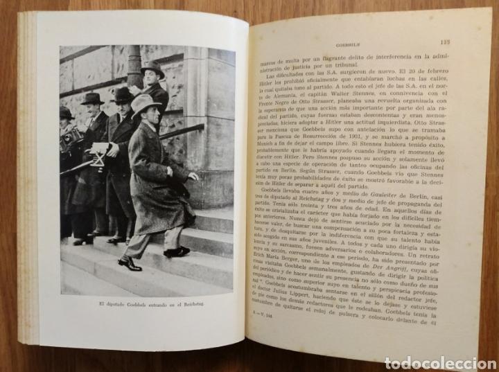 Militaria: WW2 - GOEBBELS - ROGER MANVELL HEINRICH FRAENKEL - NAZISMO PROPAGANDA HITLER ALEMANIA - Foto 4 - 112927980