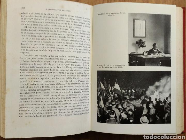 Militaria: WW2 - GOEBBELS - ROGER MANVELL HEINRICH FRAENKEL - NAZISMO PROPAGANDA HITLER ALEMANIA - Foto 5 - 112927980