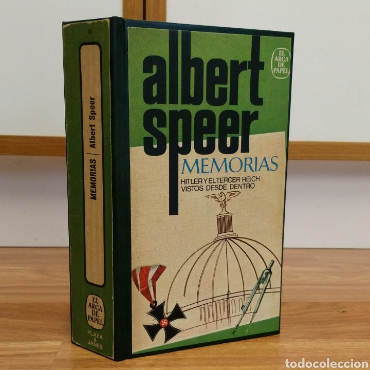 WW2 - ALBERT SPEER MEMORIAS - HITLER Y EL III REICH VISTOS DESDE DENTRO. NAZISMO ARQUITECTURA (Militar - Libros y Literatura Militar)