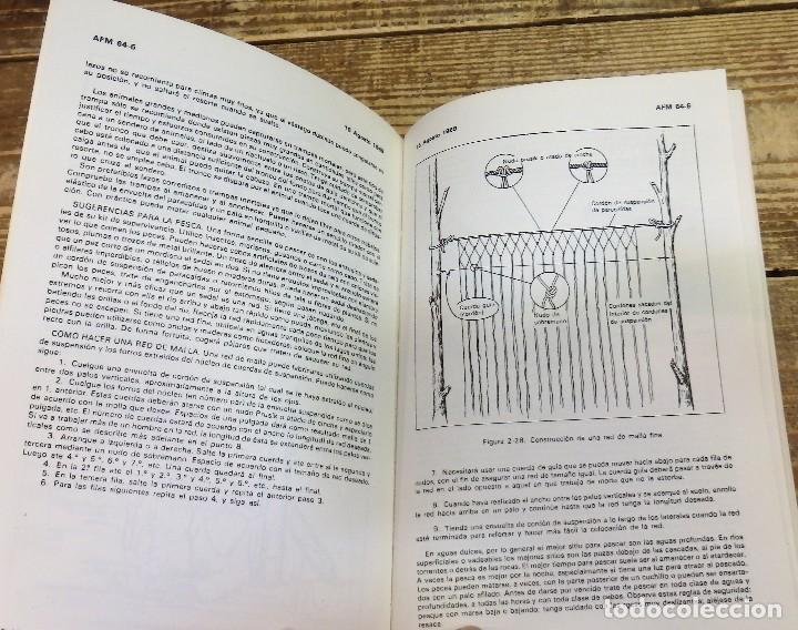 Militaria: ANTIGUO MANUAL DE LAS FUERZAS ARMADAS - SUPERVIVENCIA - BUSQUEDA Y SALVAMENTO - AÑO 1969 - USAF - - Foto 5 - 113002207