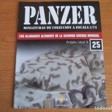 Militaria: PANZER: FASCICULO Nº 25 - LOS BLINDADOS ALEMANES DE LA SEGUNDA GUERRA MUNDIAL (ALTAYA). Lote 276499278