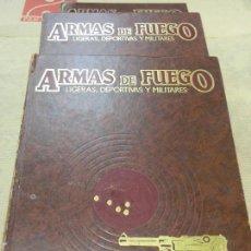 Militaria: LIBROS TEMÁTICA MILITAR ARMAS DE FUEGO LIGERAS DEPORTIVAS Y MILITARES. Lote 113206011