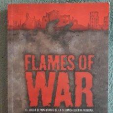 Militaria: FLAMES OF WAR, EL LIBRO DE MINIATURAS DE LA SEGUNDA GUERRA MUNDIAL / FLAMESOFWAR.COM. Lote 113377347