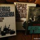 Militaria: ESPIAS AGENTES SOLDADOS,LAS GUERRAS DE LA POSGUERRA,LA RESISTENCIA EN EUROPA,. Lote 113391855