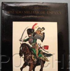 Militaria: LOS UNIFORMES DEL ESTADO MILITAR DE ESPAÑA DEL AÑO 1815 - ALDABA EDICIONES. Lote 113397719