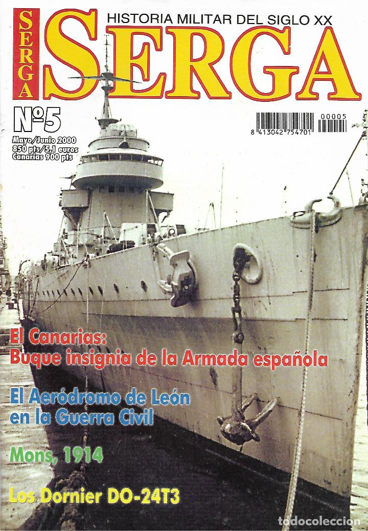 SERGA - HISTORIA MILITAR DEL SIGLO XX Nº 5 (Militar - Libros y Literatura Militar)