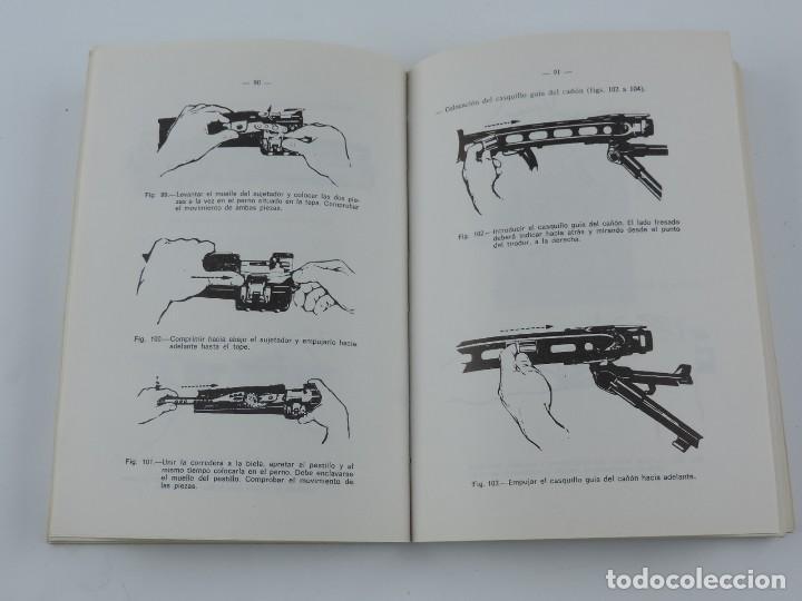 Militaria: Manual ametralladora MG 1 A 1 (42/58). Año 1977. Sirve también para la MG42 alemana. Tiene 200 págin - Foto 3 - 113751547