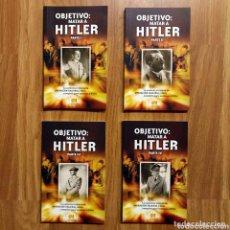 Militaria: WW2 - OBJETIVO: MATAR A HITLER - CUATRO TOMOS COMPLETO - GLASMAN GABRIEL - OPERACION VALKIRIA. Lote 113908495