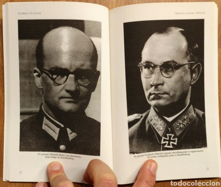Militaria: WW2 - OBJETIVO: MATAR A HITLER - CUATRO TOMOS COMPLETO - GLASMAN Gabriel - OPERACION VALKIRIA - Foto 2 - 113908495