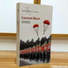 Militaria: WW2 - HHHH - LAURENT BINET - HIMMLER - REINHARD HEYDRICH - SS GESTAPO. Lote 113912967