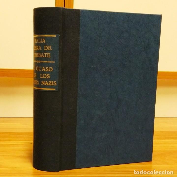 WW2 - 2 LIBROS: EL OCASO DE LOS DIOSES NAZIS + ITALIA FUERA DE COMBATE - SEGUNDA GUERRA MUNDIAL (Militar - Libros y Literatura Militar)