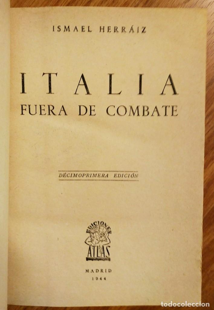 Militaria: WW2 - 2 LIBROS: EL OCASO DE LOS DIOSES NAZIS + ITALIA FUERA DE COMBATE - SEGUNDA GUERRA MUNDIAL - Foto 2 - 114333591