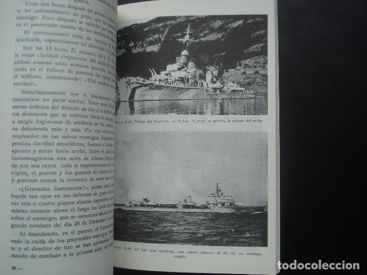 Militaria: Combate en el mar. El hundimiento del acorazado alemán Scharnhorst. Kriegsmarine - Foto 3 - 114366303