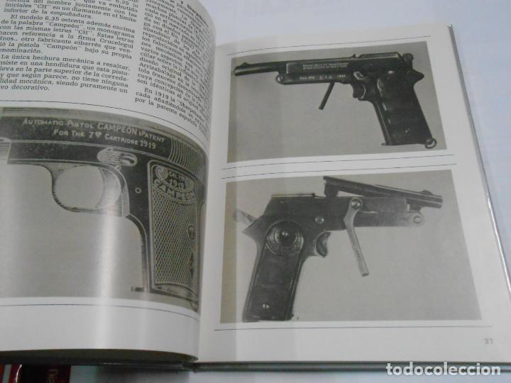 Militaria: HISTORIA DE LA PISTOLA Y EL REVOLVER EN EUSKADI DE 1870 A 1936. EDICIONES VASCAS. Arm19 - Foto 2 - 115178823