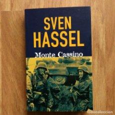 Militaria: WW2 - SVEN HASSEL - MONTE CASSINO. Lote 115269227