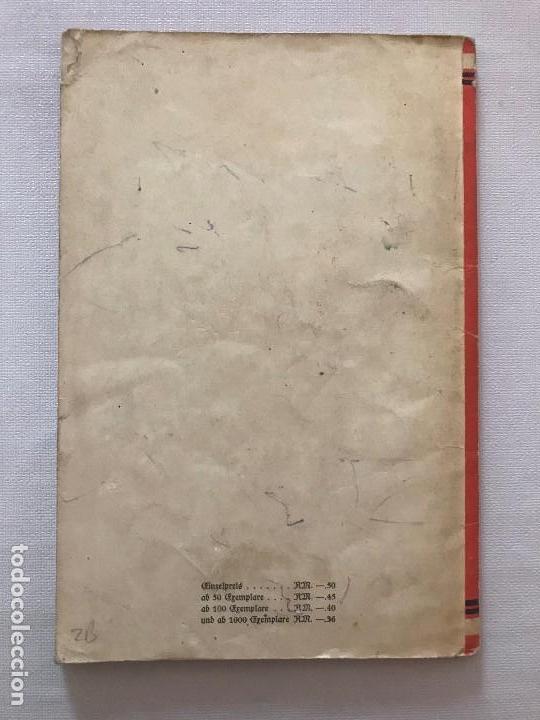 Militaria: Libro Wesen, Grundsätze und Ziele der NSDAP. Alfred Rosenberg 1922, Tercer Reich, nazi, NSDAP hitler - Foto 2 - 115297919
