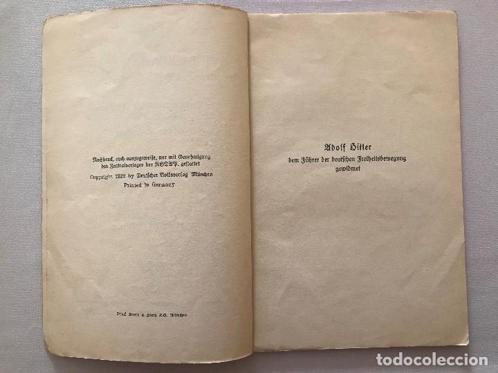 Militaria: Libro Wesen, Grundsätze und Ziele der NSDAP. Alfred Rosenberg 1922, Tercer Reich, nazi, NSDAP hitler - Foto 5 - 115297919