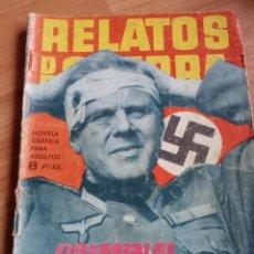 Militaria: RELATOS DE GUERRA. COMIC / TEBEO. NAZI. III REICH. ALEMANIA.. Lote 115308699