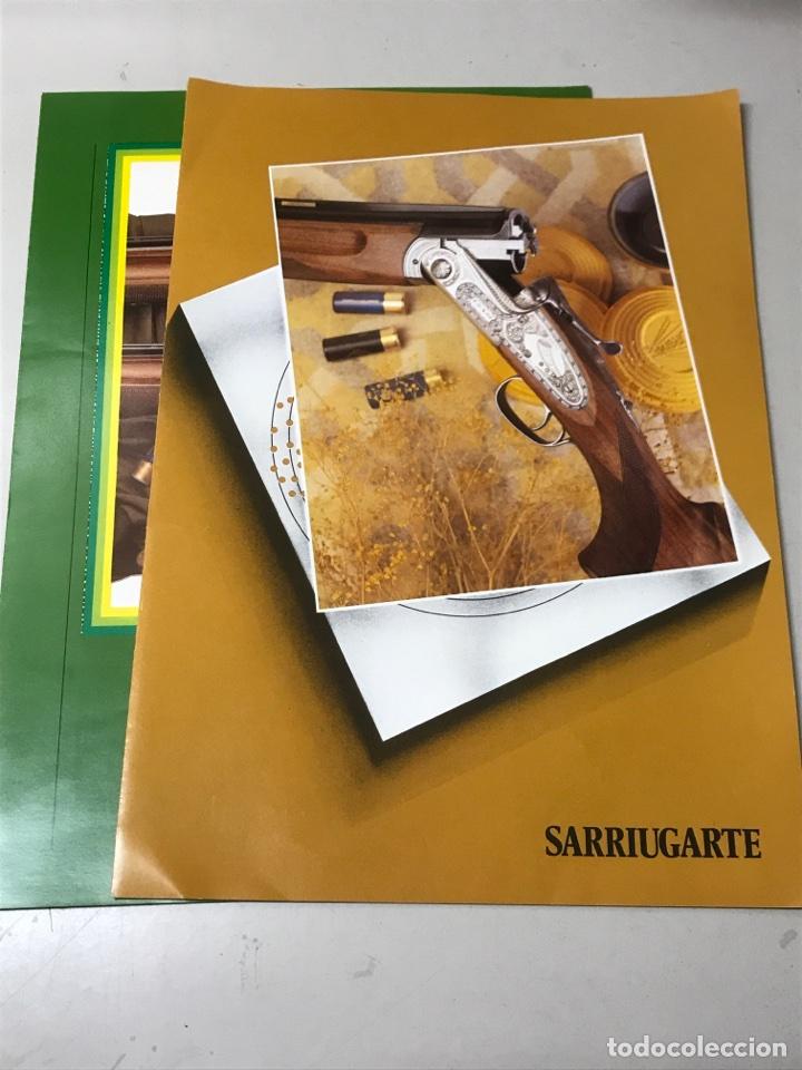 Militaria: CATALOGOS DE ARMAS. SARRIUGARTE - Foto 2 - 115367744