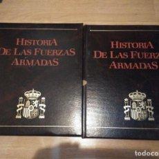 Militaria: 2 TOMOS DE HISTORIA DE LAS FUERZAS ARMADAS, TOMO 2 Y 5, 300 PAG. CADA LIBRO CON CIENTOS DE FOTOS . Lote 115420143