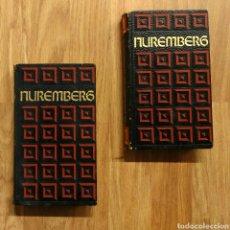Militaria: EL PROCESO DE NUREMBERG - 2 TOMOS, 1969 BERNARD MICHAL ED. CÍRCULO AMIGOS DE LA HISTORIA. Lote 115548599