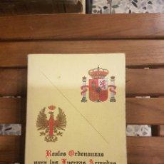 Militaria - REALES ORDENANZAS PARA LAS FUERZAS ARMADAS/REALES ORDENANZAS DEL EJERCITO DE TIERRA - 115863215